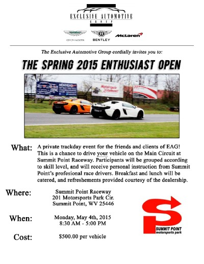 The Spring 2015 Enthusiast Open