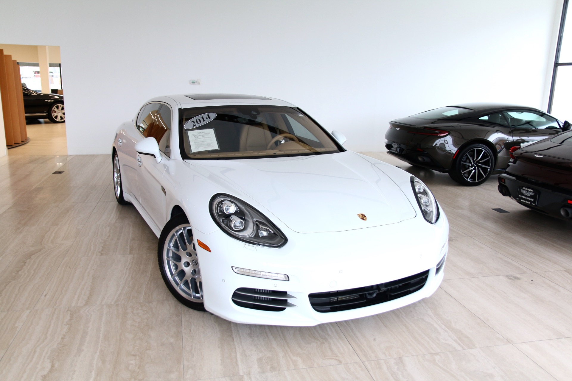 2014 porsche panamera 4s executive stock 7n003354b for sale near vienna va va porsche. Black Bedroom Furniture Sets. Home Design Ideas