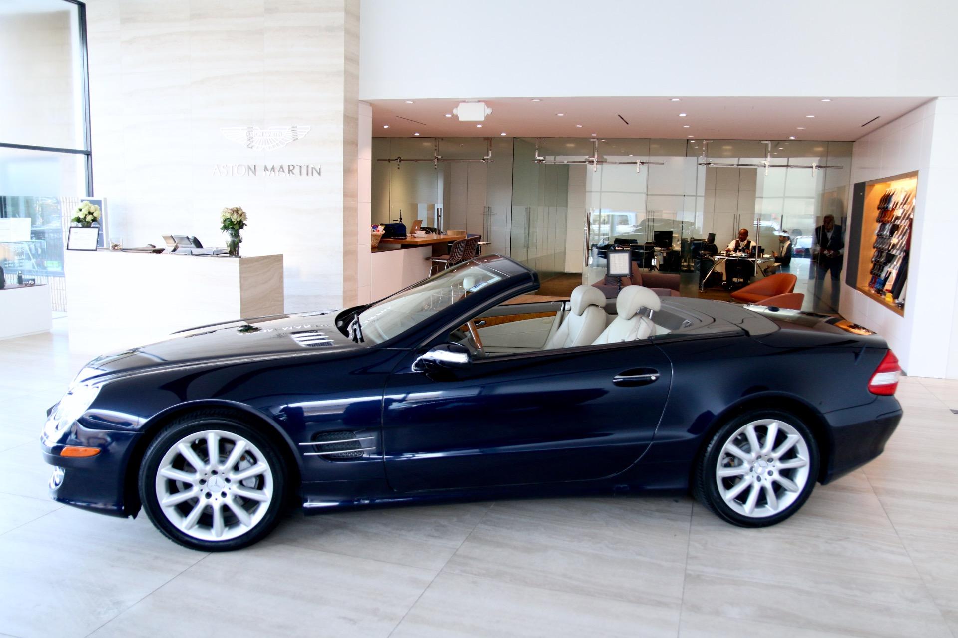 2007 mercedes benz sl class sl 550 stock p033542a for for Mercedes benz dealers virginia