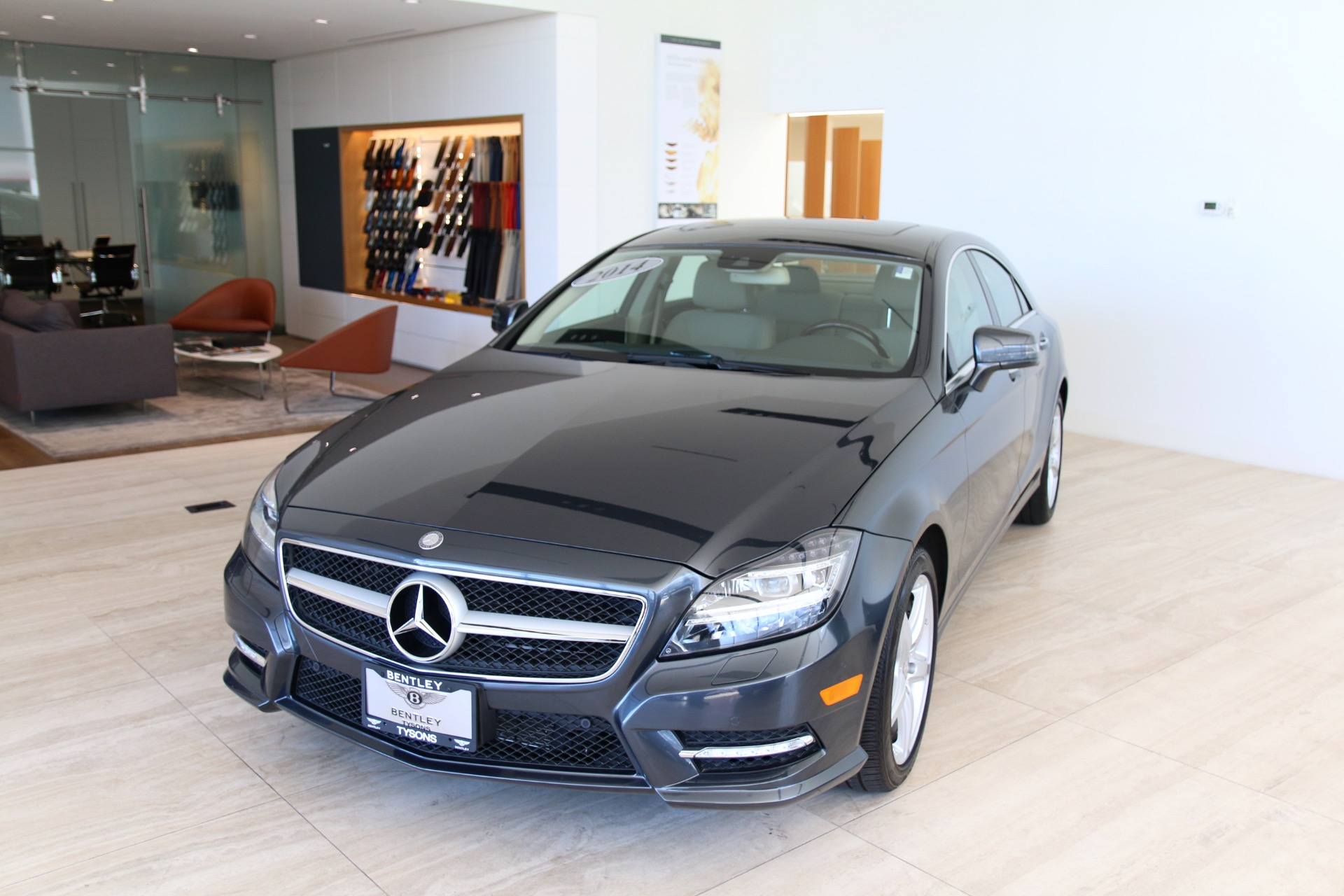 2014 mercedes benz cls class cls 550 4matic stock for Mercedes benz tysons service