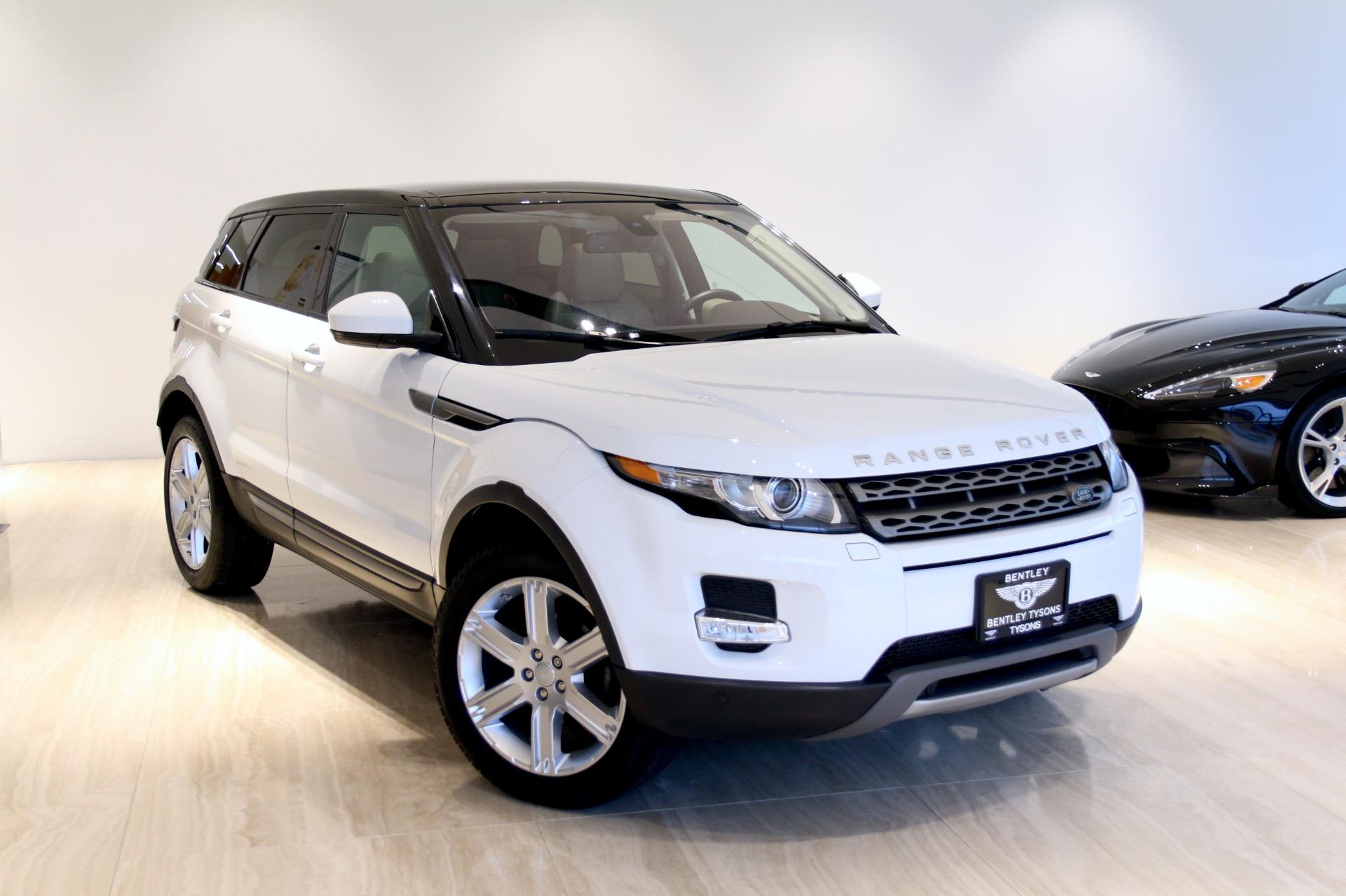 2015 Land Rover Range Rover Evoque Pure Plus Stock P052706 For Sale Near Vienna Va Va Land Rover Dealer For Sale In Vienna Va P052706 Exclusive Automotive Group