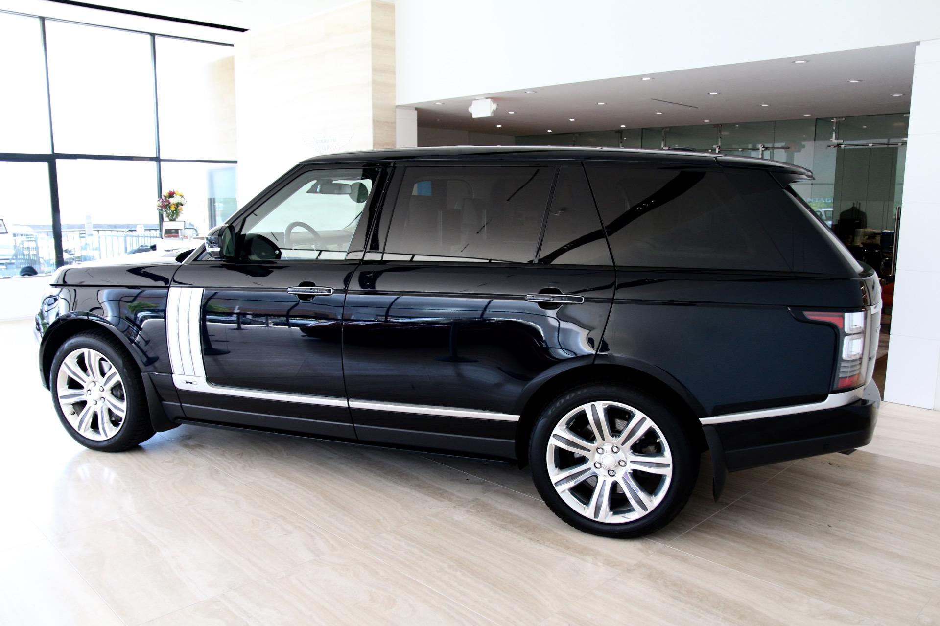 2014 Land Rover Range Rover Autobiography Black Lwb Stock