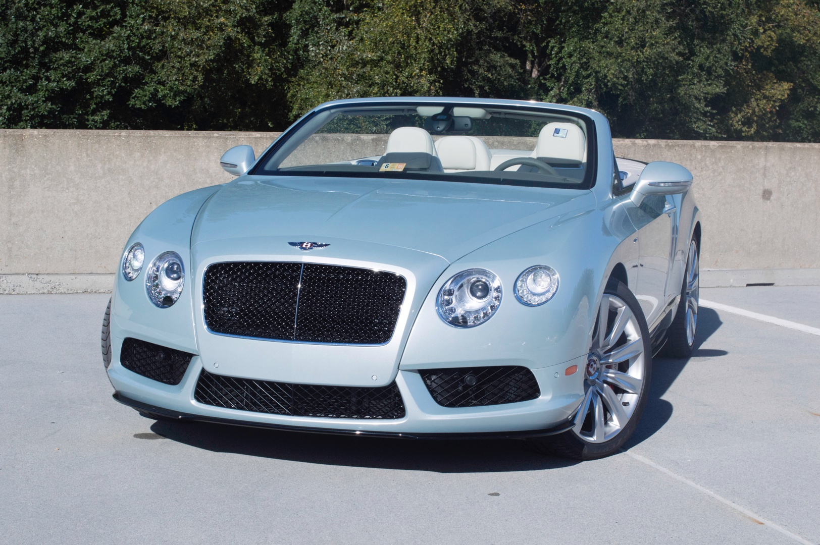 2014 Bentley Continental Gtc V8 S Stock 4nc041086 For
