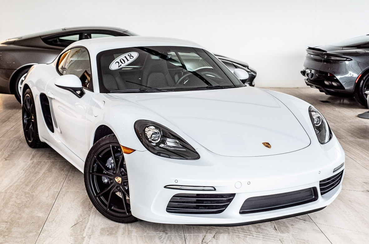 Porsche Dealers In Va >> 2018 Porsche 718 Cayman Stock 9nn01560a For Sale Near