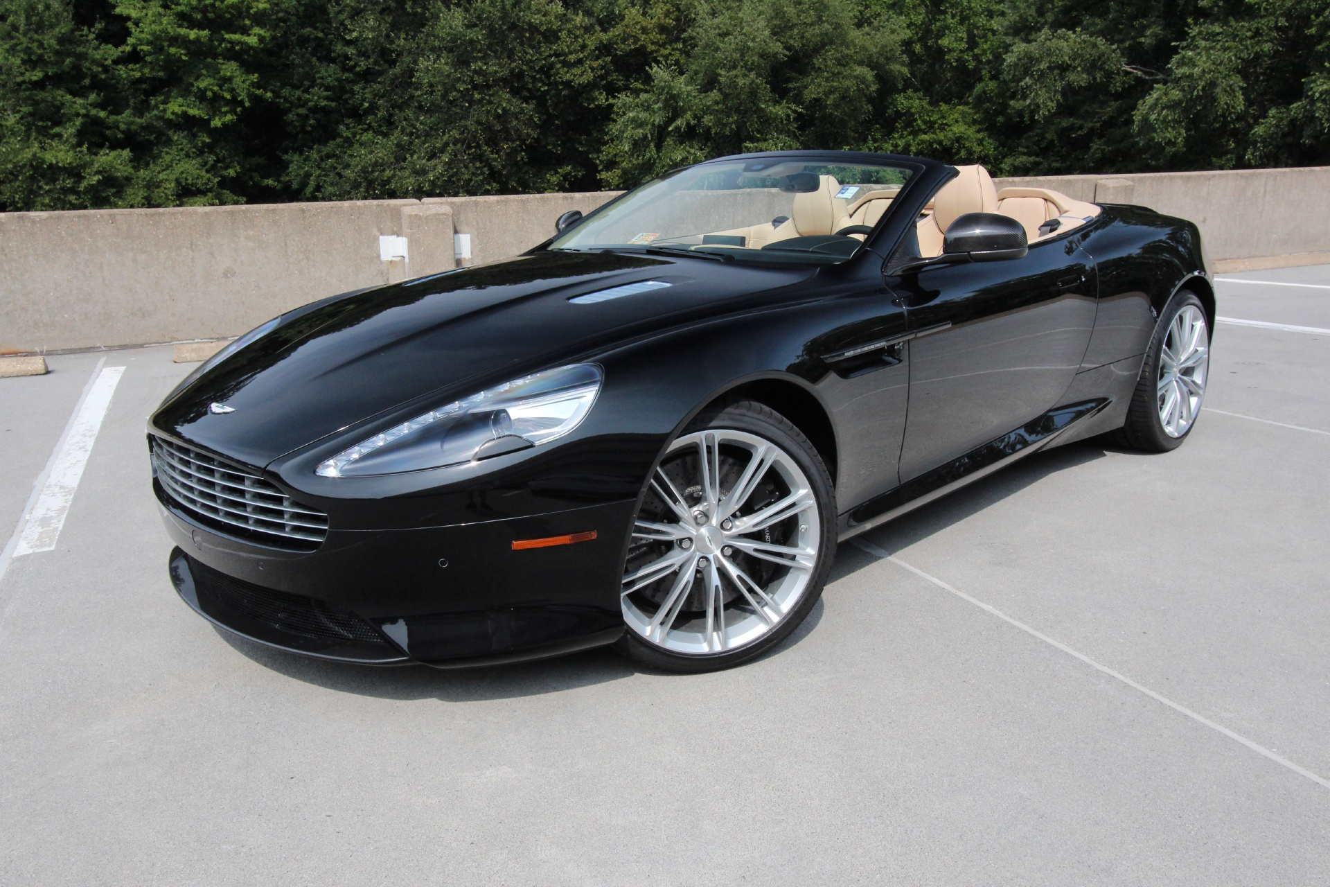 2015 aston martin db9 volante carbon edition stock. Black Bedroom Furniture Sets. Home Design Ideas