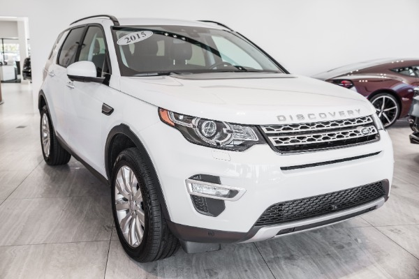 Used 2015 Land Rover Discovery Sport HSE LUX | Vienna, VA