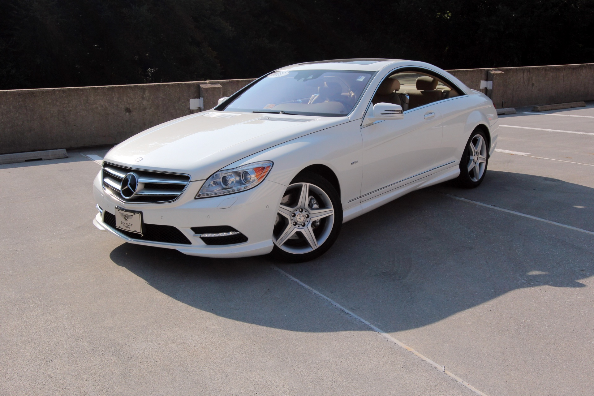 2011 mercedes benz cl550 4matic stock p026053 for sale