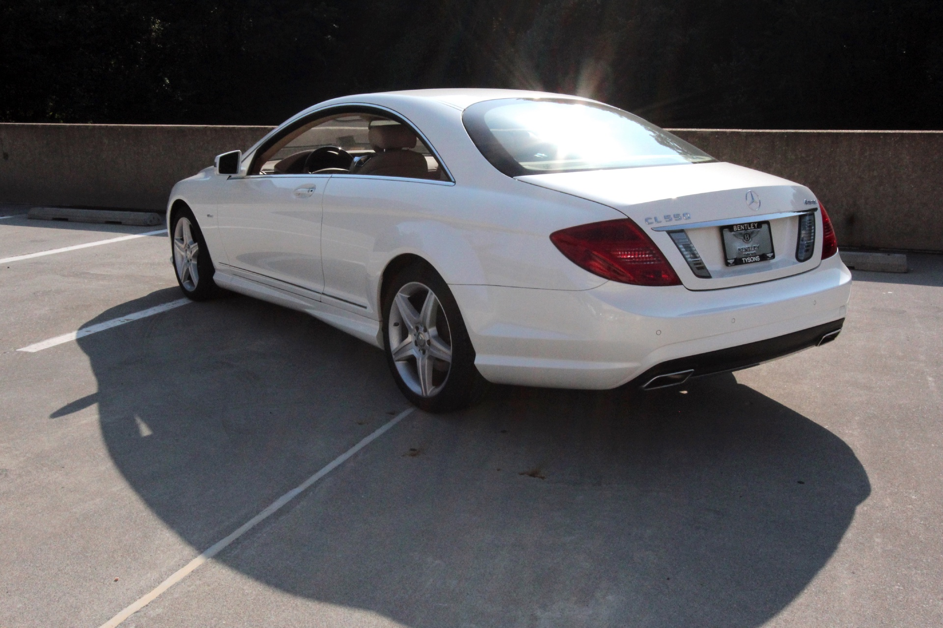 2011 mercedes benz cl550 4matic stock p026053 for sale for Mercedes benz dealer in va