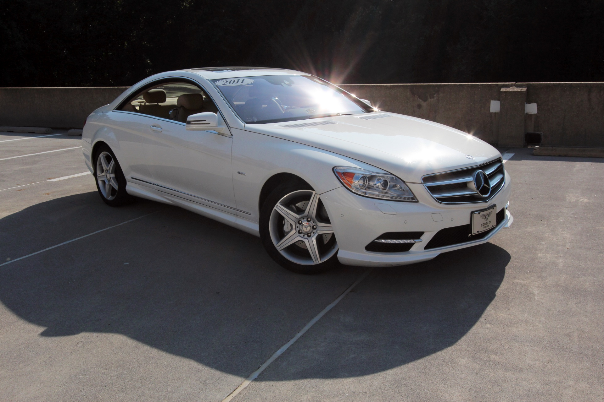 2011 mercedes benz cl550 4matic stock p026053 for sale for Mercedes benz tysons service