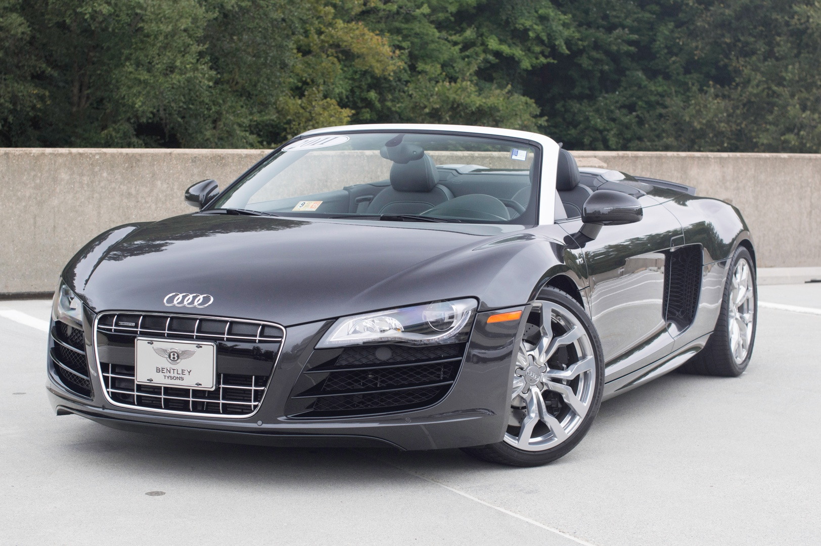2011 Audi R8 5 2 Quattro Spyder Stock P002179 For Sale