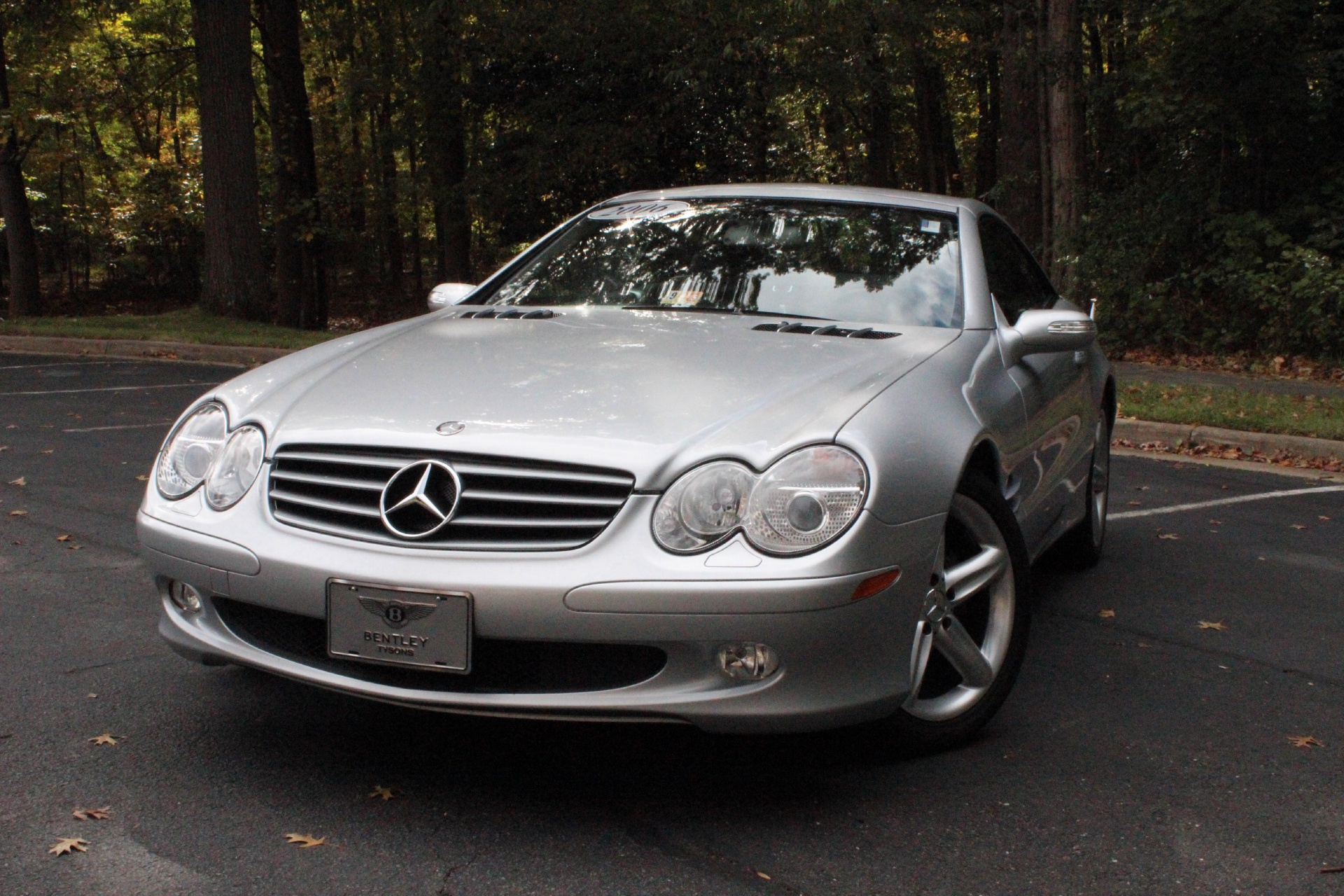 2006 mercedes benz sl class stock p111676 for sale near for Mercedes benz tysons service