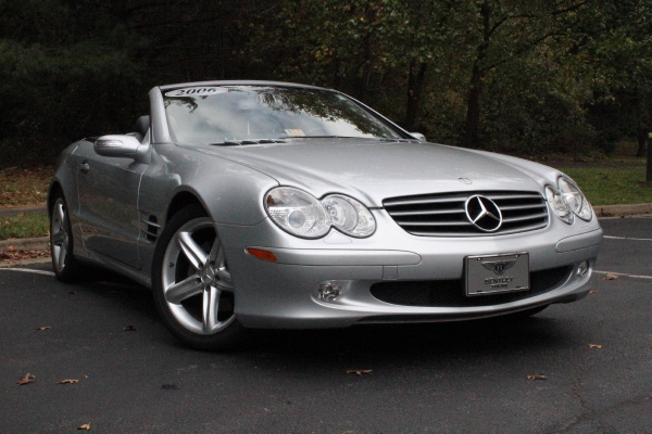 2006 mercedes benz sl class stock p111676 for sale near for Mercedes benz dealer in va