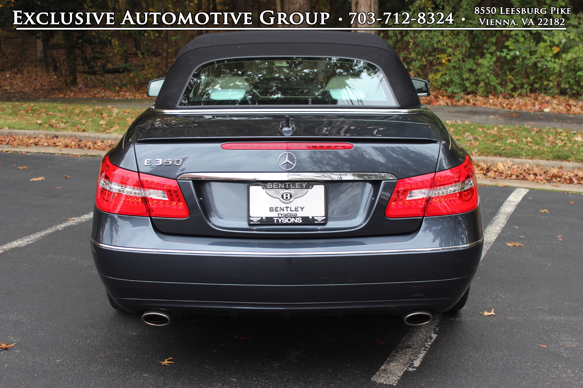 2013 mercedes benz e350 cabriolet stock p208908 for sale for Mercedes benz dealers in va