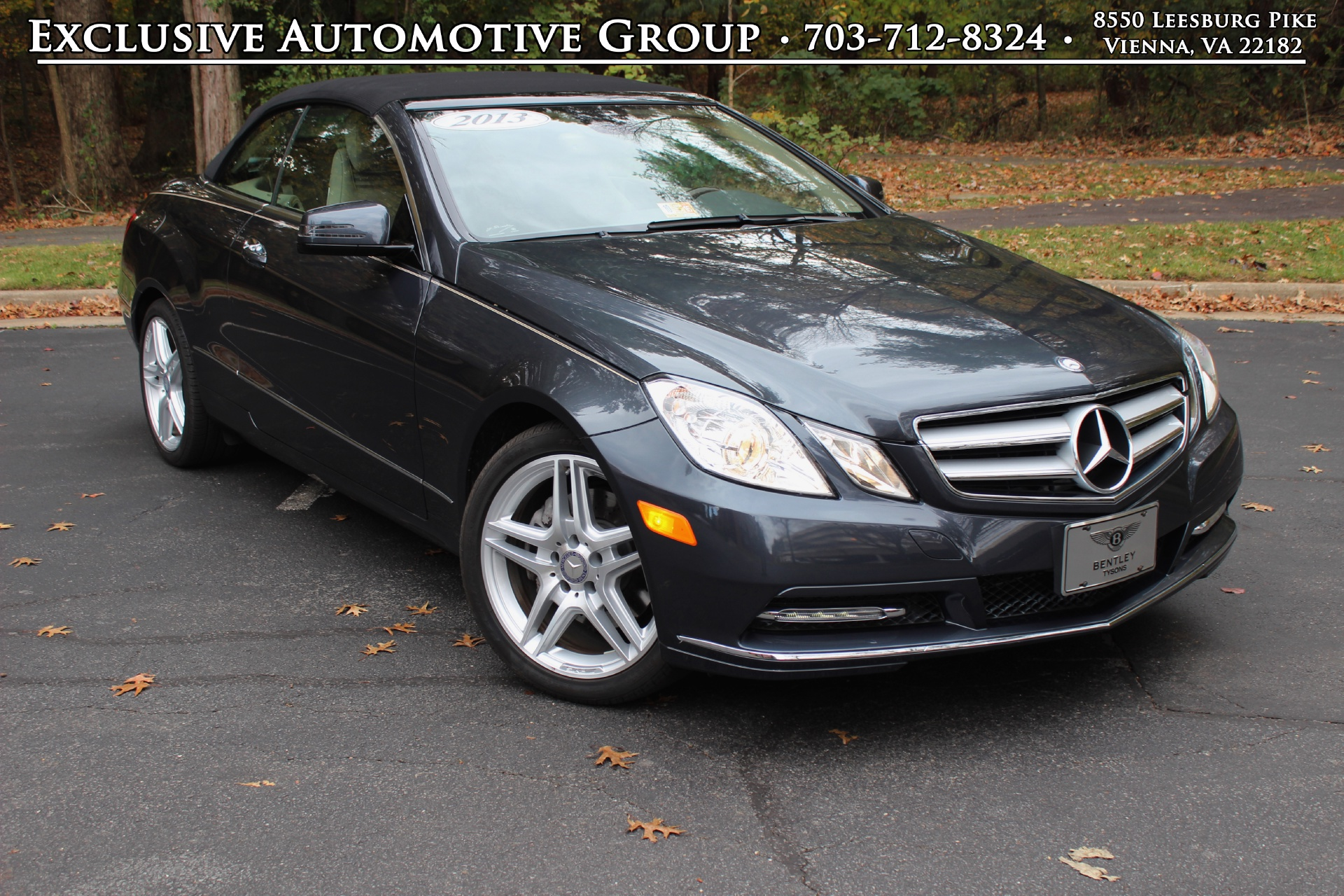 2013 mercedes benz e350 cabriolet stock p208908 for sale for Mercedes benz tysons service