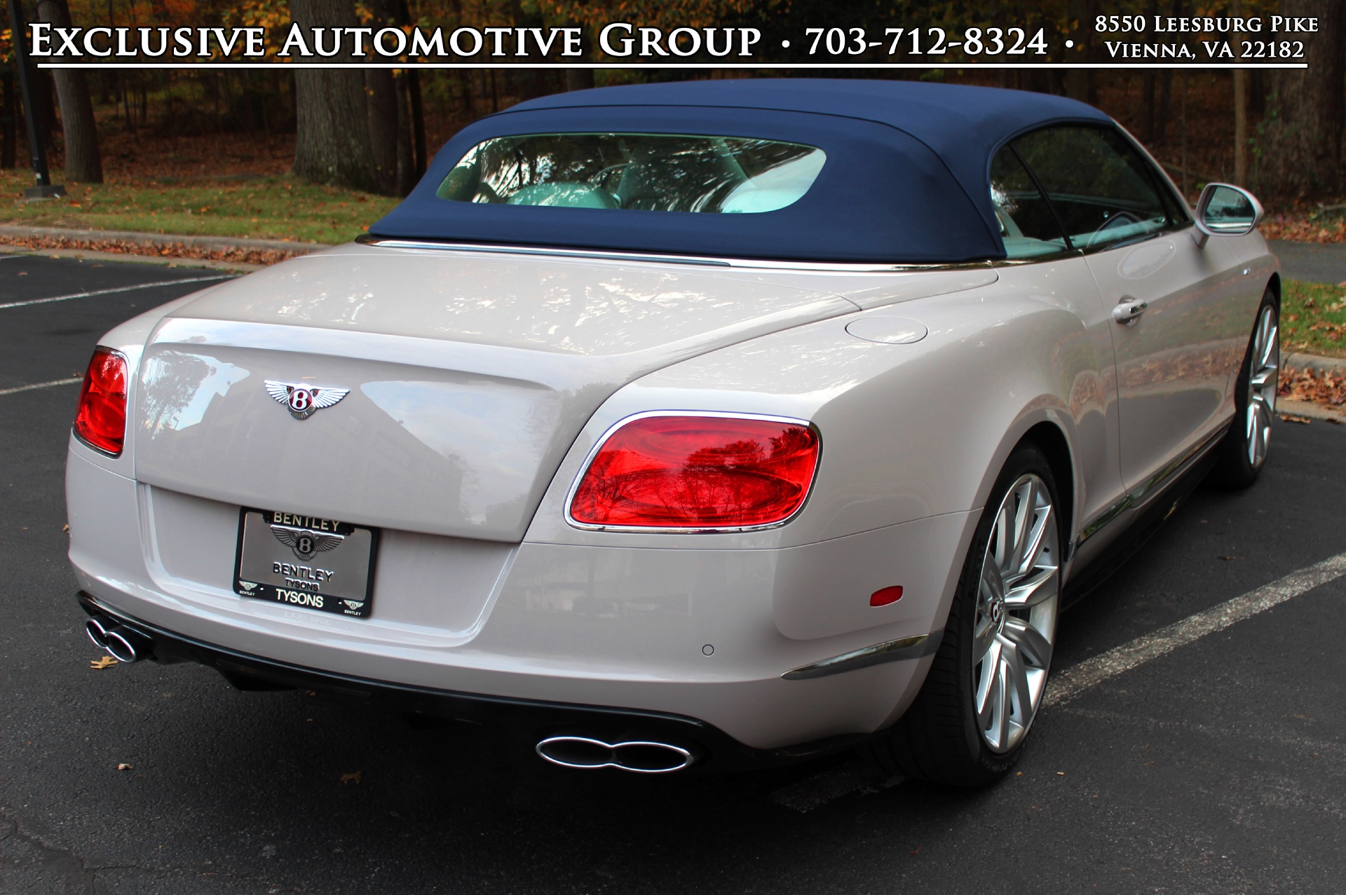 2015 Bentley Continental Gtc V8 S Stock 5nc041421 For