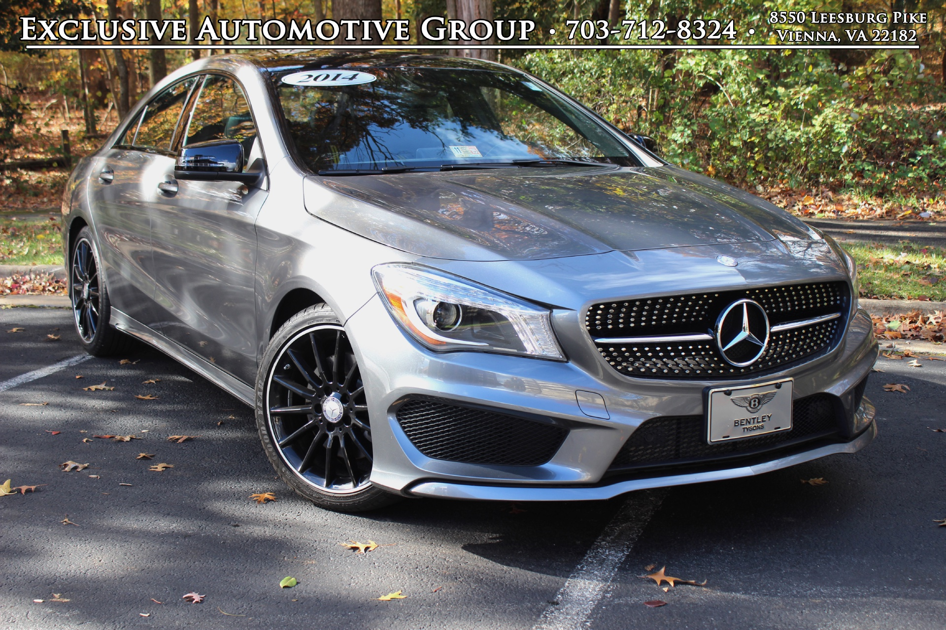 2014 mercedes benz cla class sport stock p029621 for for Mercedes benz dealer in va