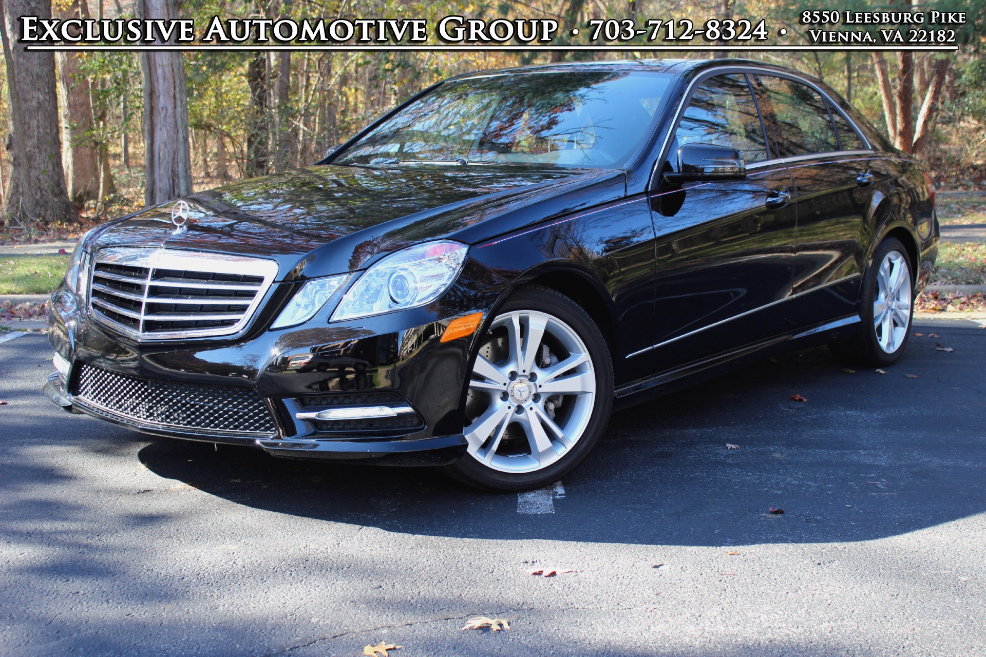 2013 mercedes benz e class stock p685596 for sale near for Tysons mercedes benz