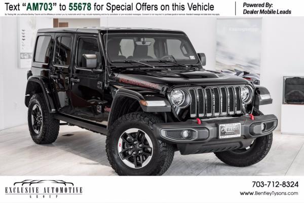 Used 2020 Jeep Wrangler Unlimited Rubicon   Vienna, VA