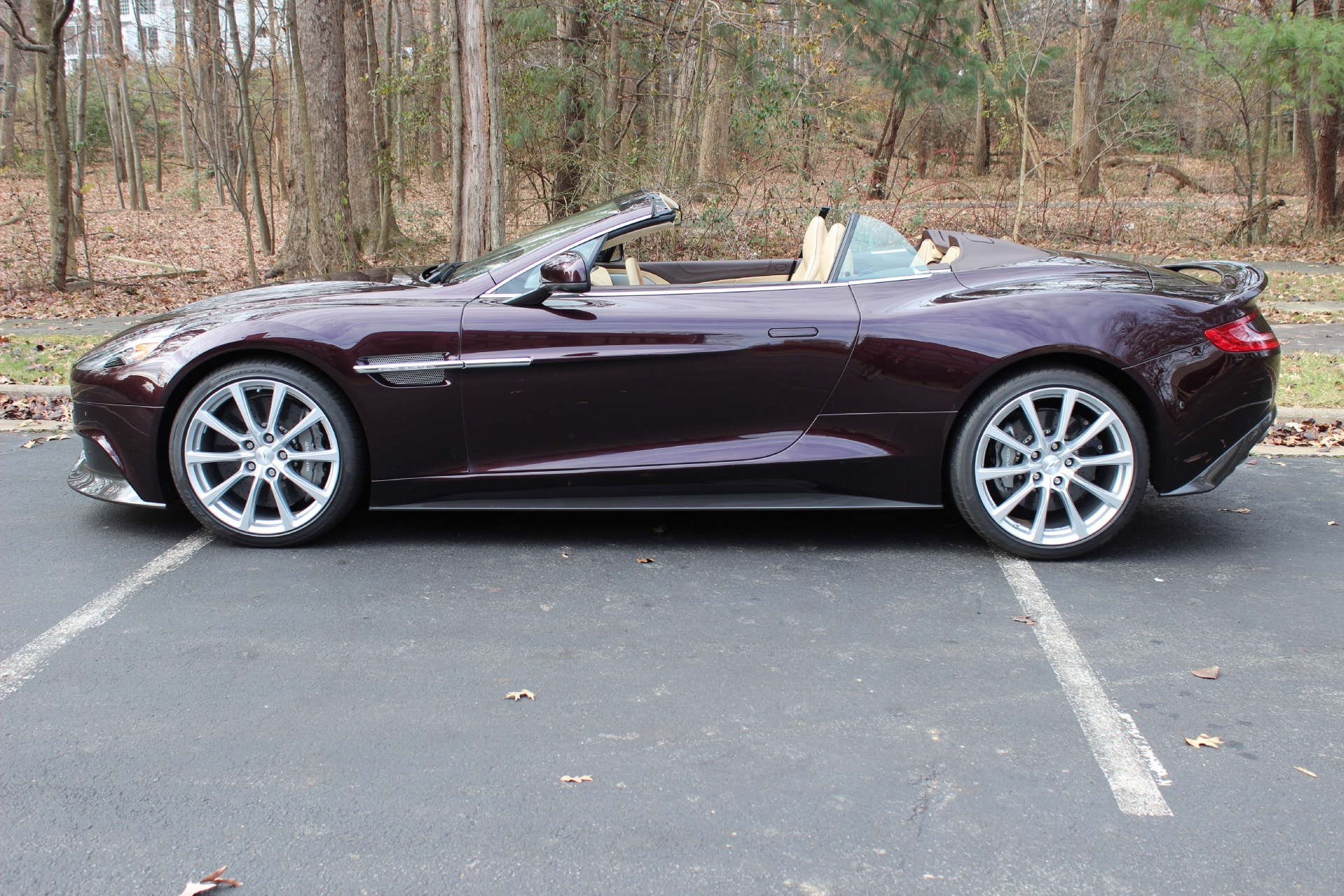 2014 aston martin vanquish volante stock # 4k00981 for sale near