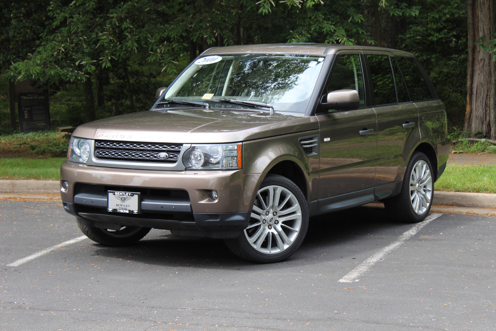 2010 land rover range rover sport hse stock p256057 for sale near vienna va va land rover - Land rover garage near me ...