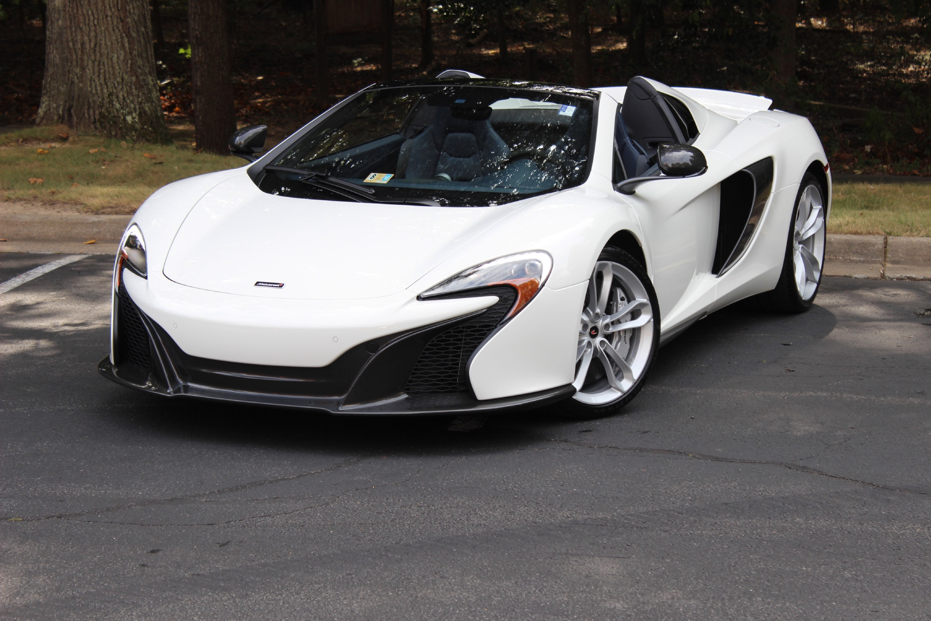 2016 mclaren 650s spider stock # 6w005604 for sale near vienna, va