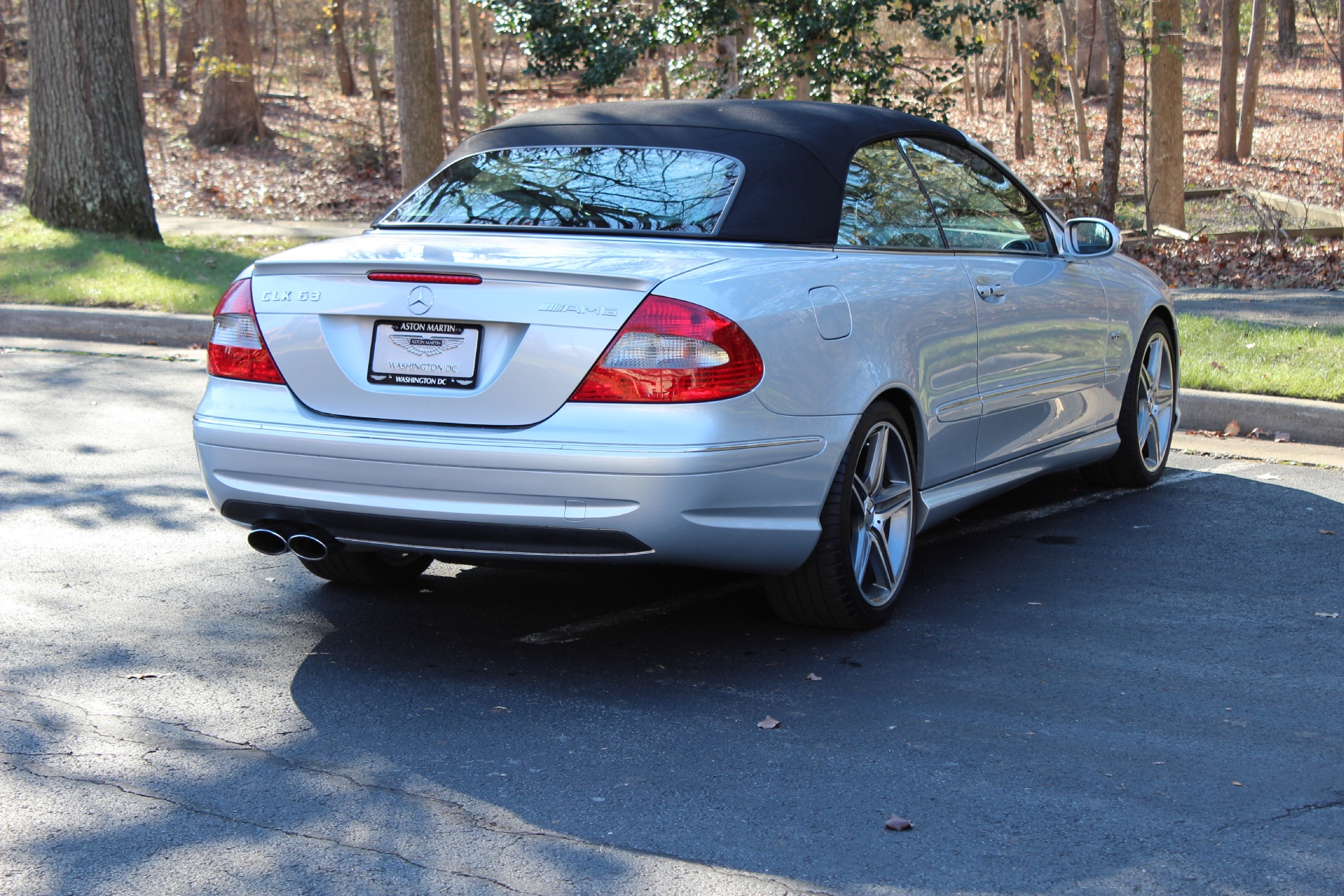 2007 mercedes benz clk63 amg clk63 amg stock p084288 for for Mercedes benz tysons service