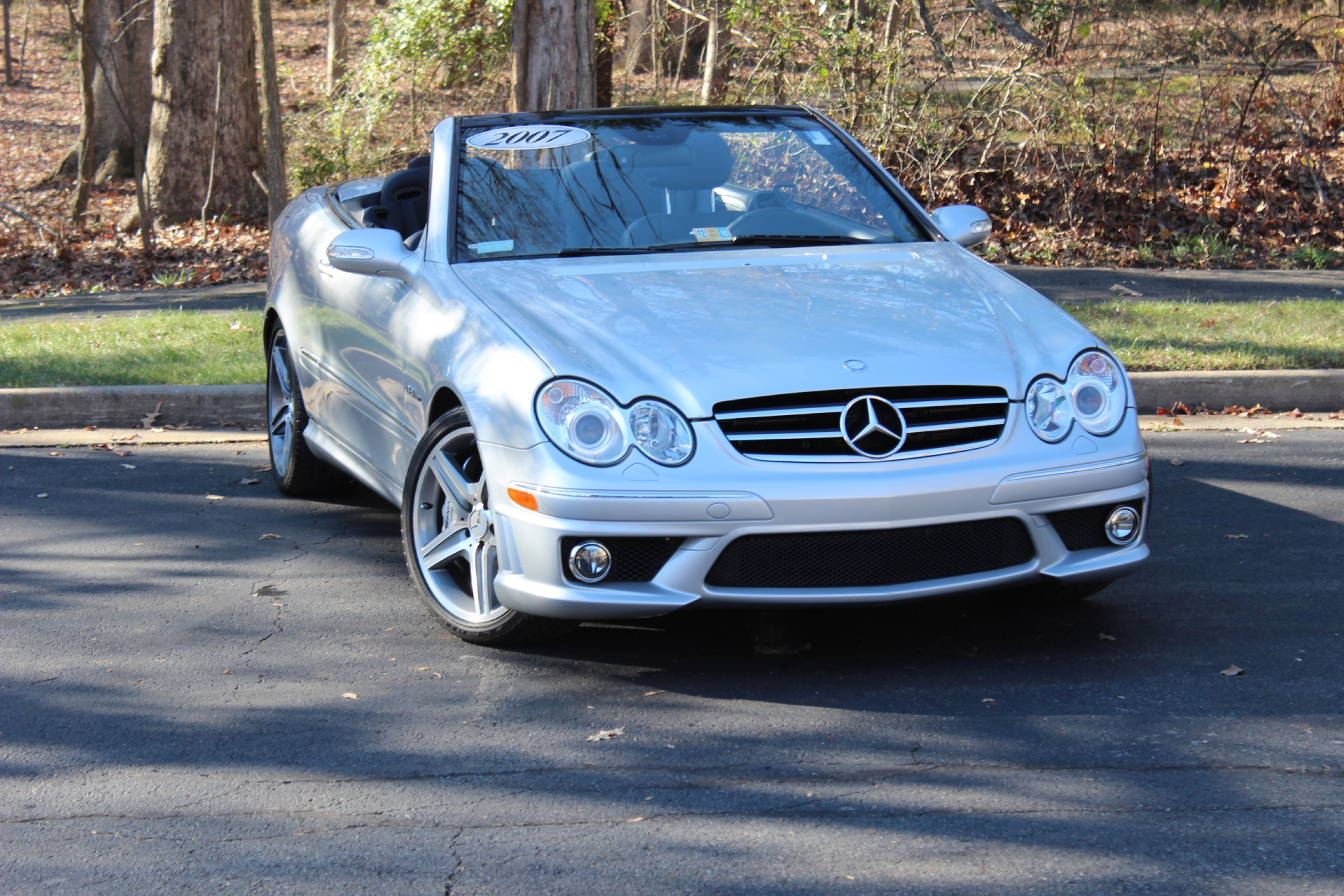 2007 mercedes benz clk63 amg clk63 amg stock p084288 for for Mercedes benz dealer in va