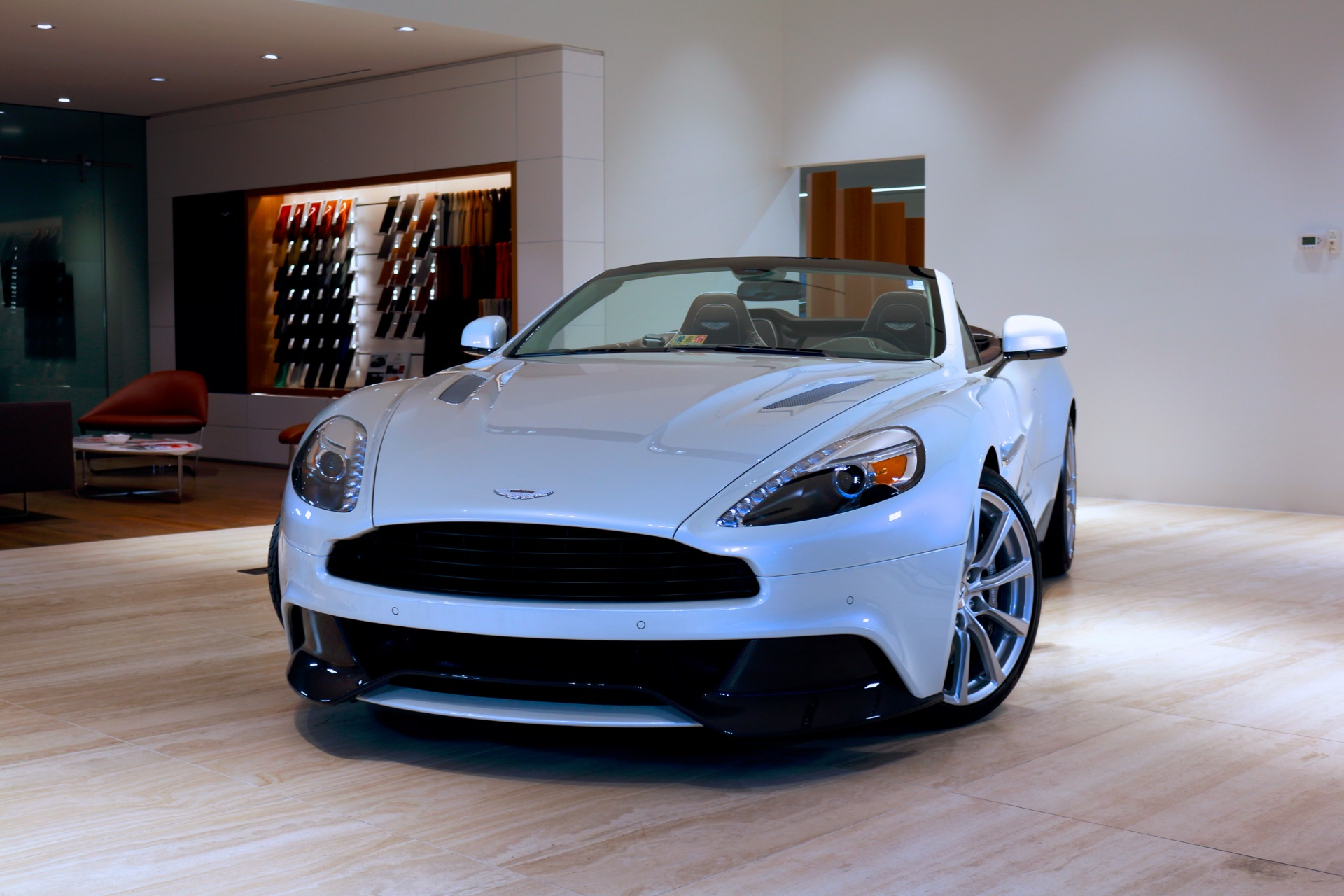 2016 aston martin vanquish volante stock # 6k02880 for sale near