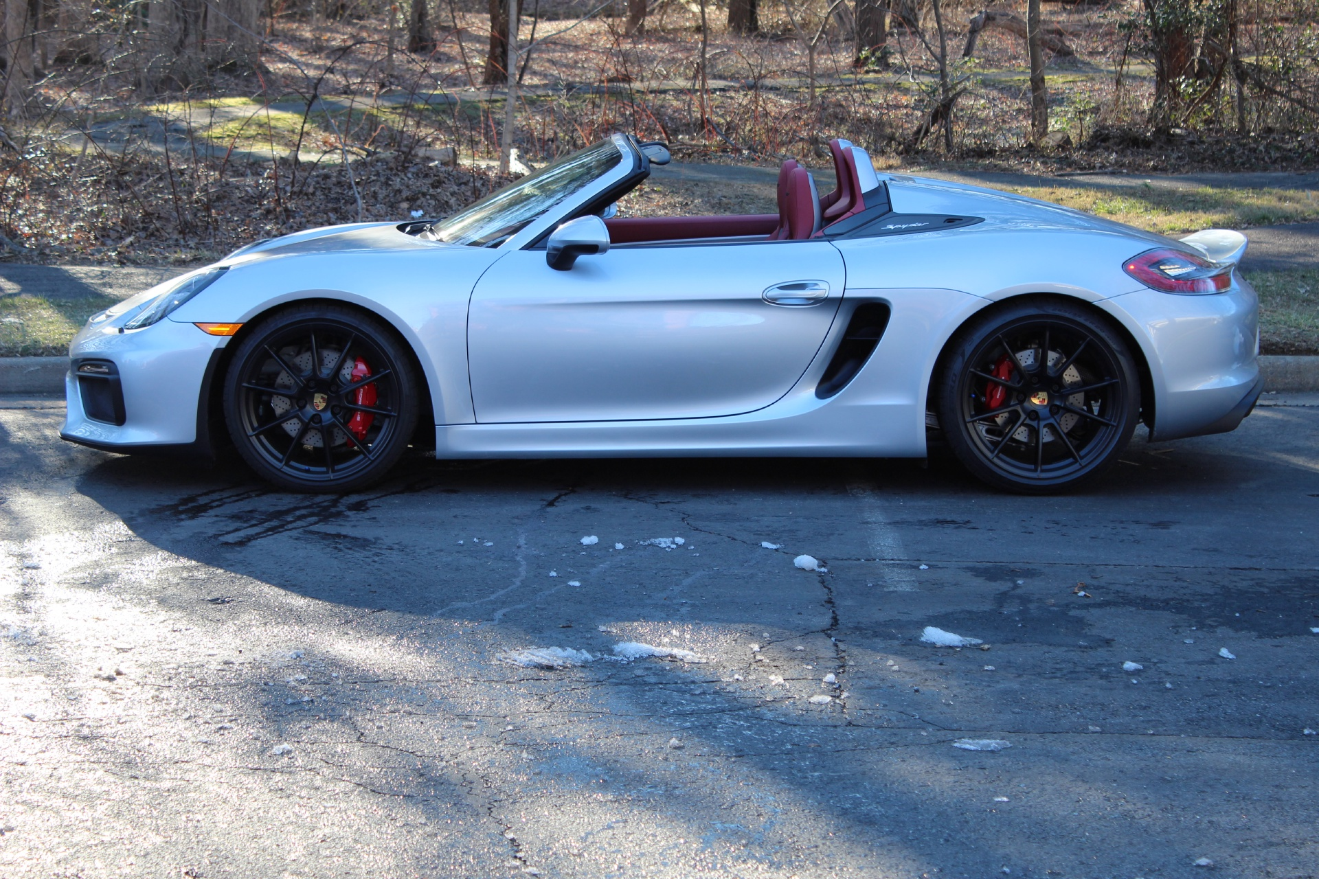 2016 porsche boxster spyder stock p152426 for sale near vienna va va porsche dealer for. Black Bedroom Furniture Sets. Home Design Ideas