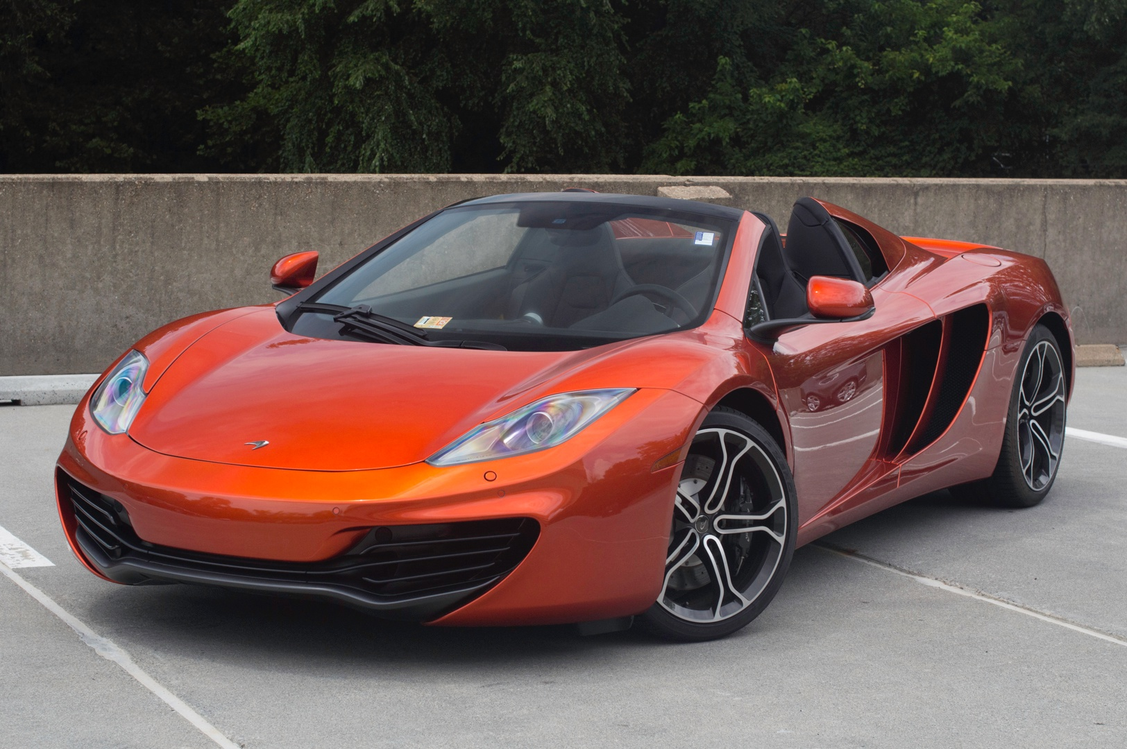 2014 mclaren mp4 12c stock 4n003229 for sale near vienna. Black Bedroom Furniture Sets. Home Design Ideas