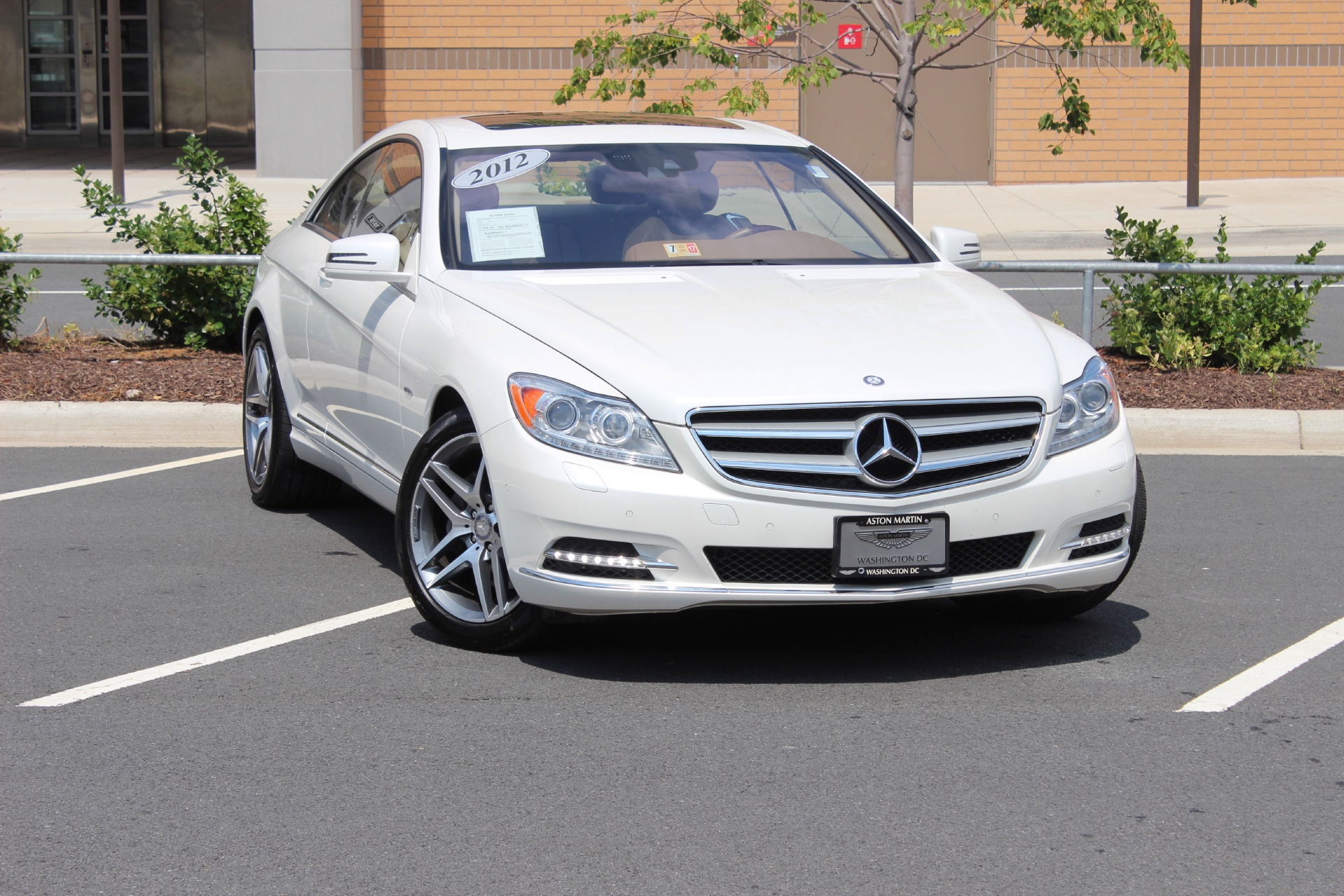 2012 mercedes benz cl class cl550 4matic stock p079423a for Mercedes benz dealer in va