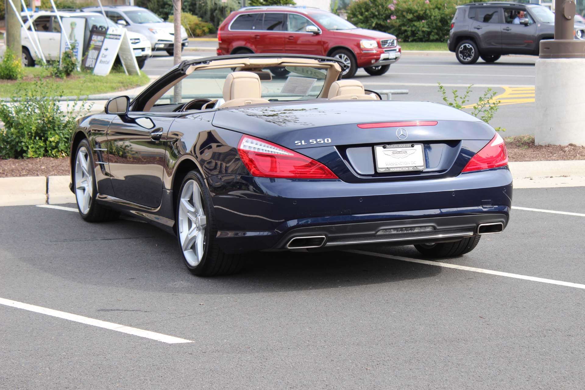 2014 mercedes benz sl class sl550 stock p024367 for sale for Mercedes benz sl550