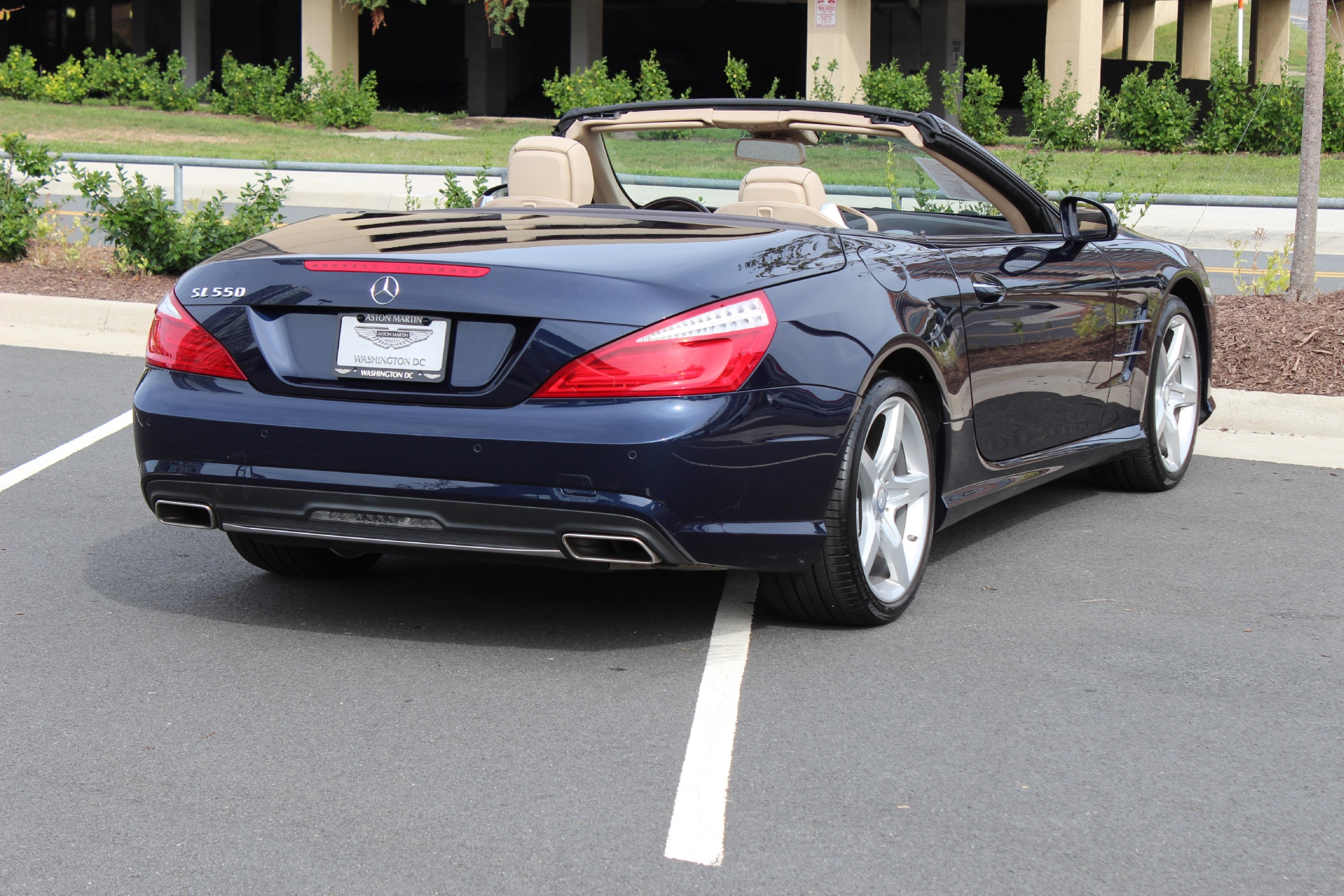 2014 mercedes benz sl class sl550 stock p024367 for sale for Mercedes benz dealers in va