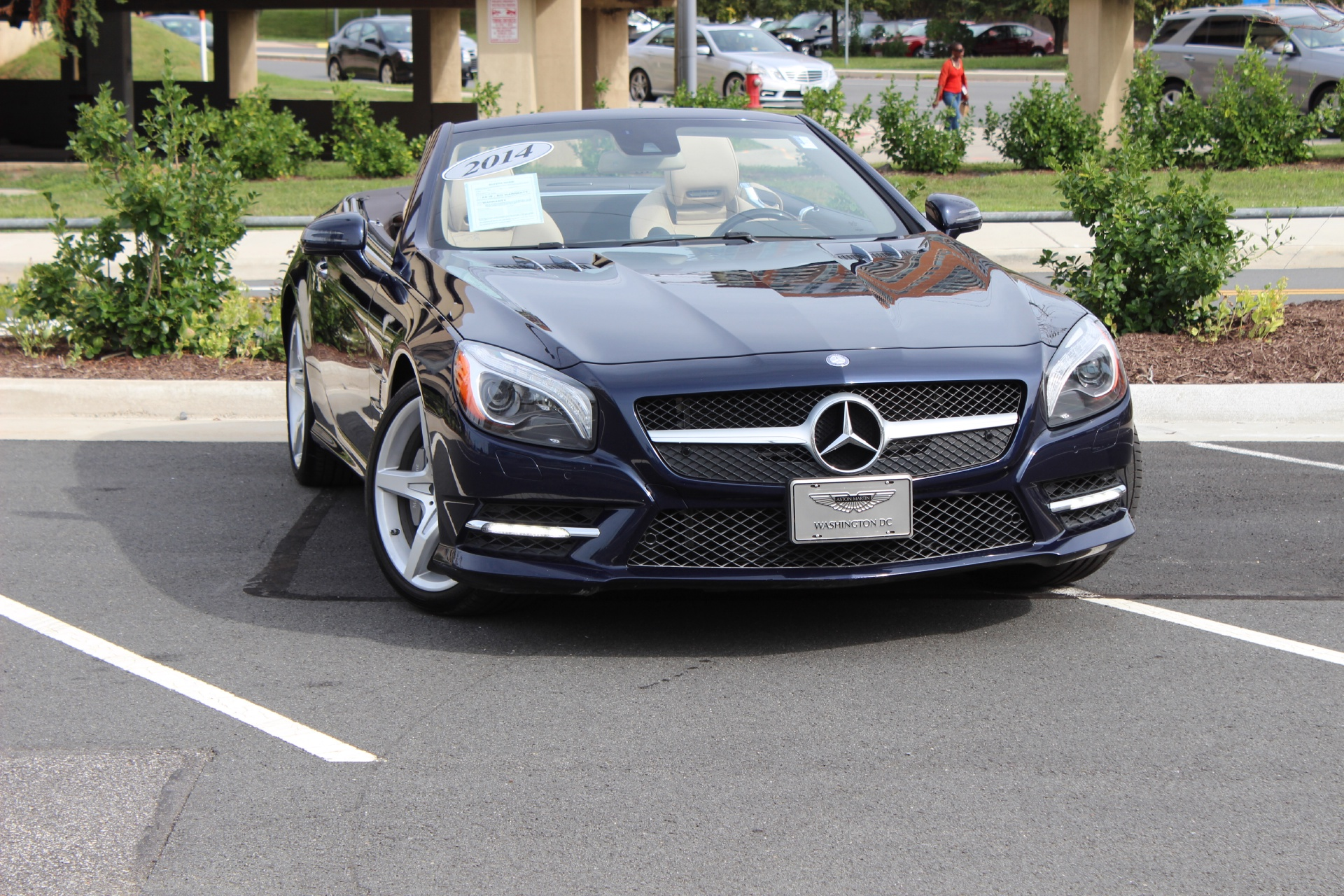 2014 mercedes benz sl class sl550 stock p024367 for sale for Mercedes benz tysons service