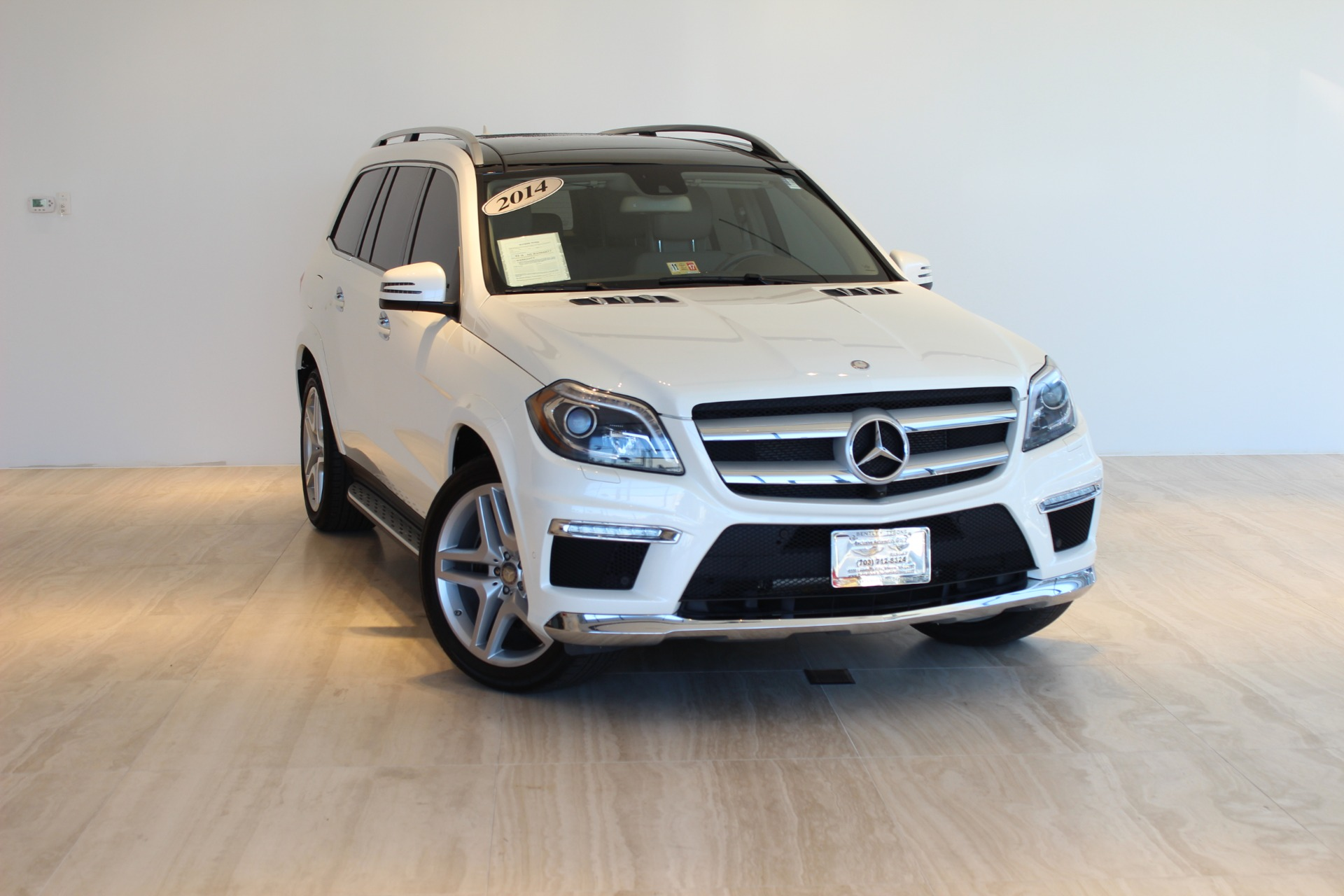2014 mercedes benz gl class gl550 4matic stock 6w000819b for Mercedes benz dealer in va