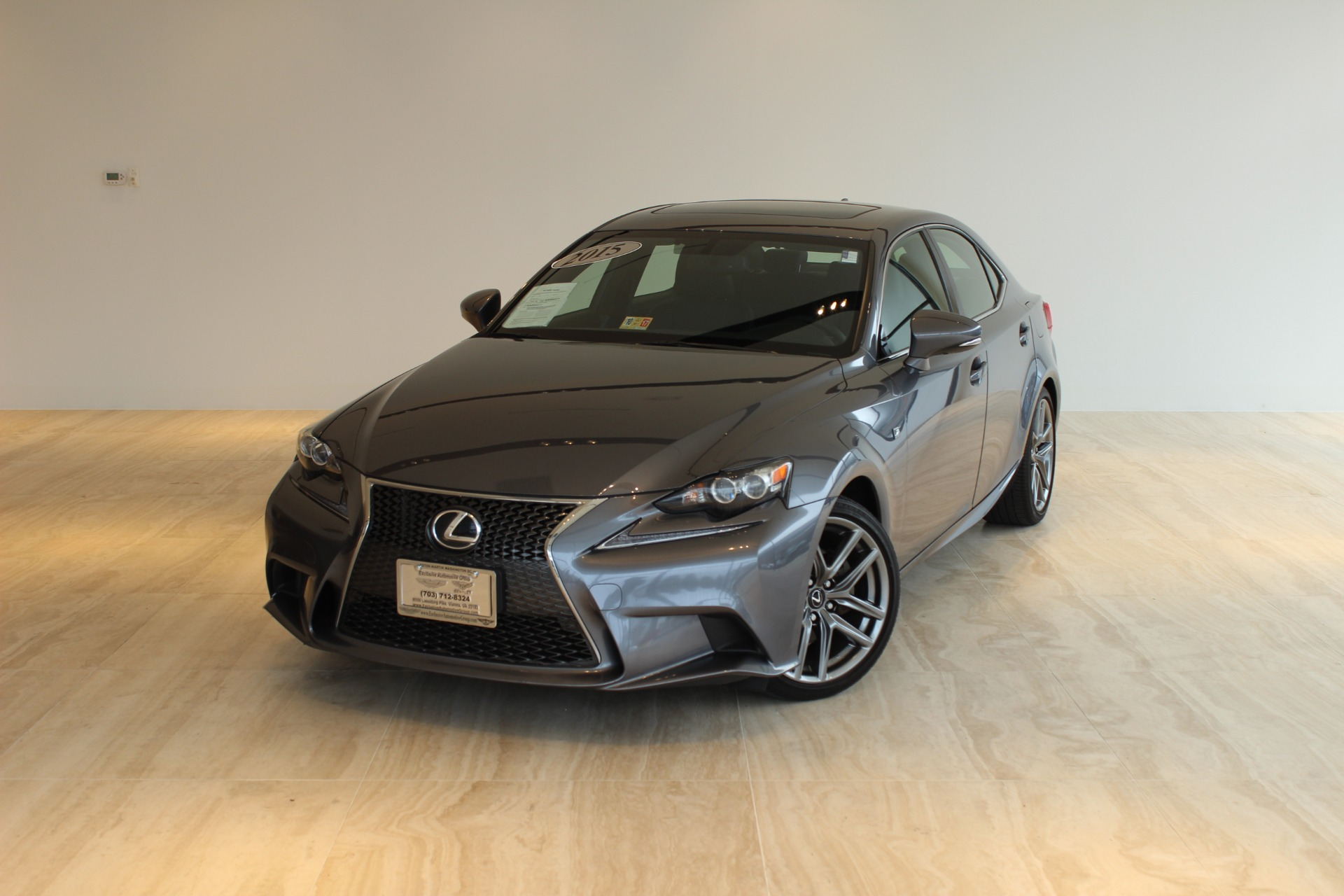 2015 lexus is 250 crafted line stock p018881 for sale