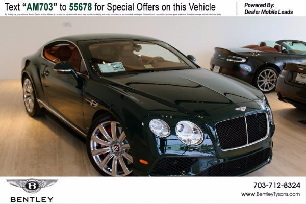 New 2017 Bentley Continental GT-Vienna, VA