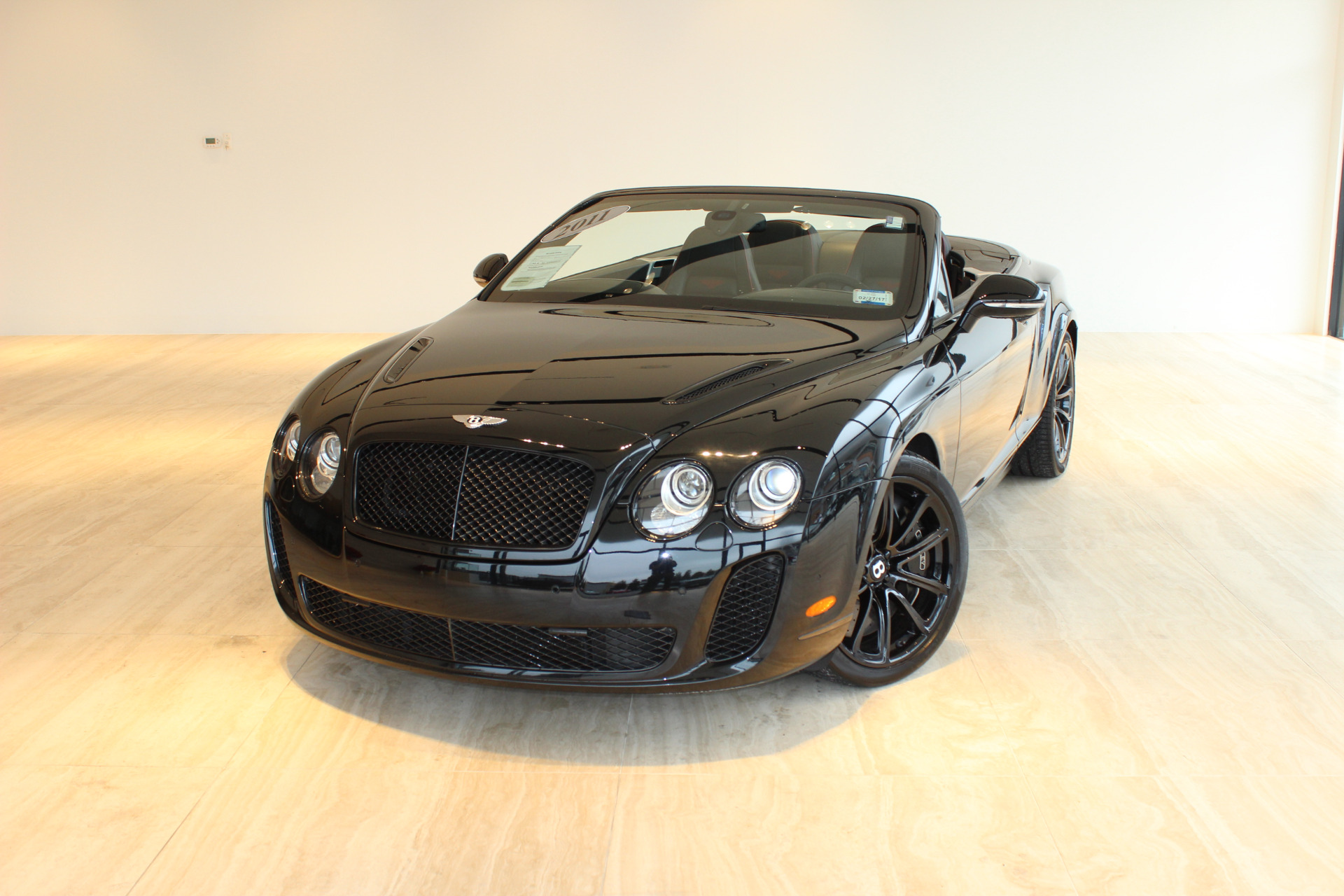 2011 Bentley Continental Supersports Stock P for sale near