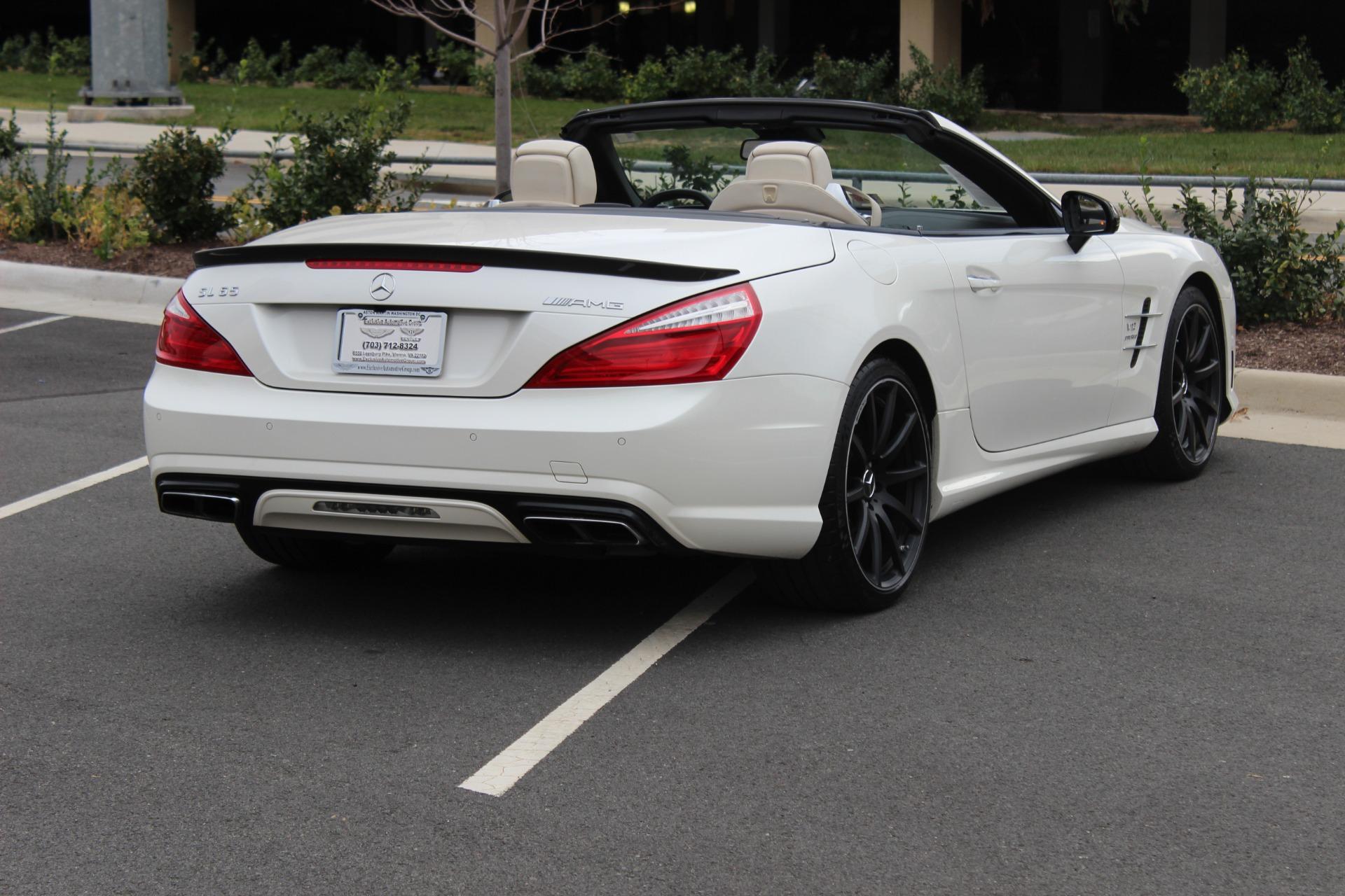 2013 mercedes benz sl class sl65 amg stock 6nc053786a for Mercedes benz dealers virginia