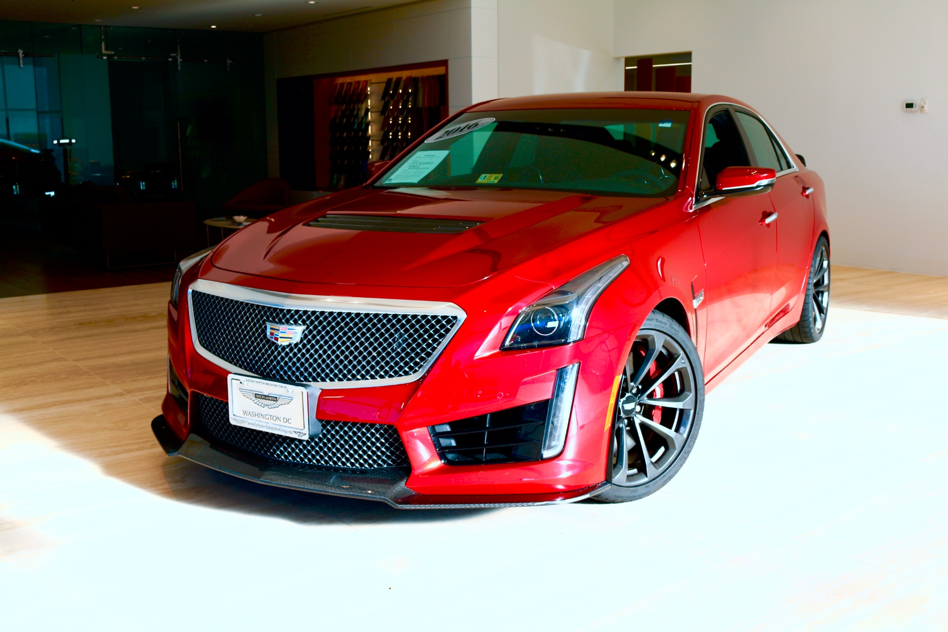 2016 cadillac cts v stock 6n8057450a for sale near vienna va va cadillac dealer for sale in. Black Bedroom Furniture Sets. Home Design Ideas