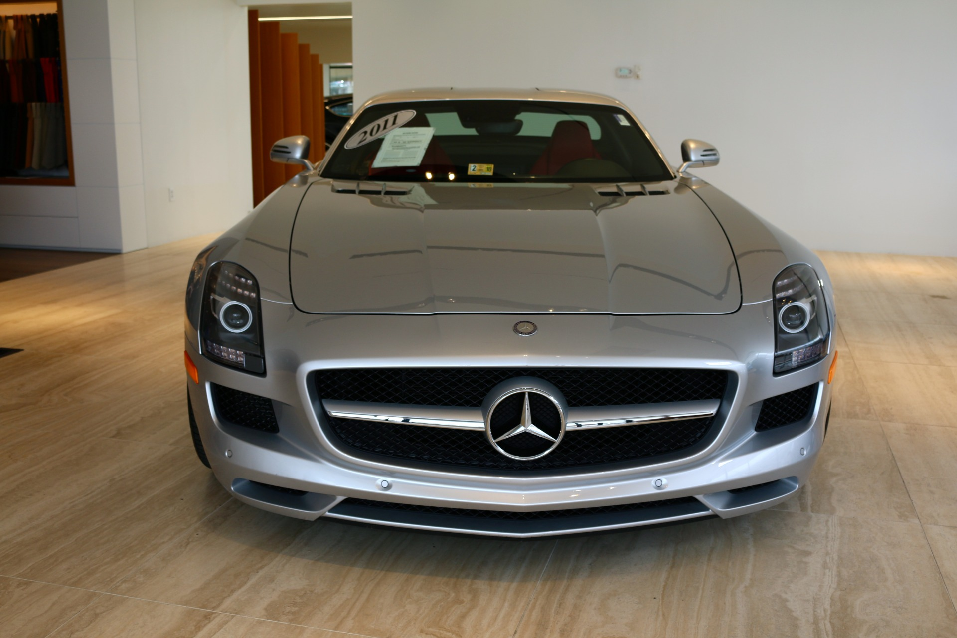 2011 mercedes benz sls amg stock 6nf05498a for sale near for Mercedes benz dealers virginia