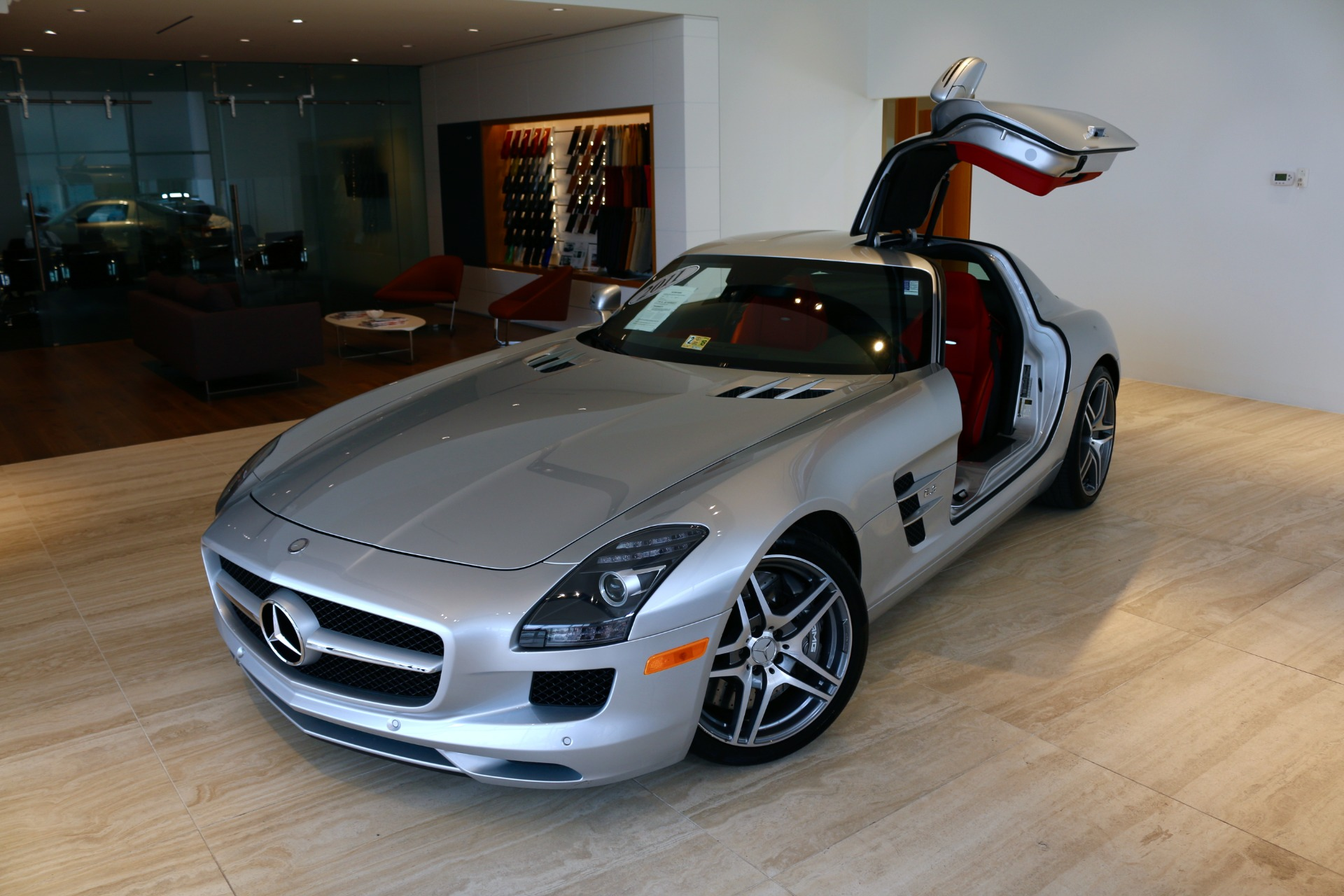 2011 mercedes benz sls amg stock 6nf05498a for sale near for Mercedes benz dealer in va