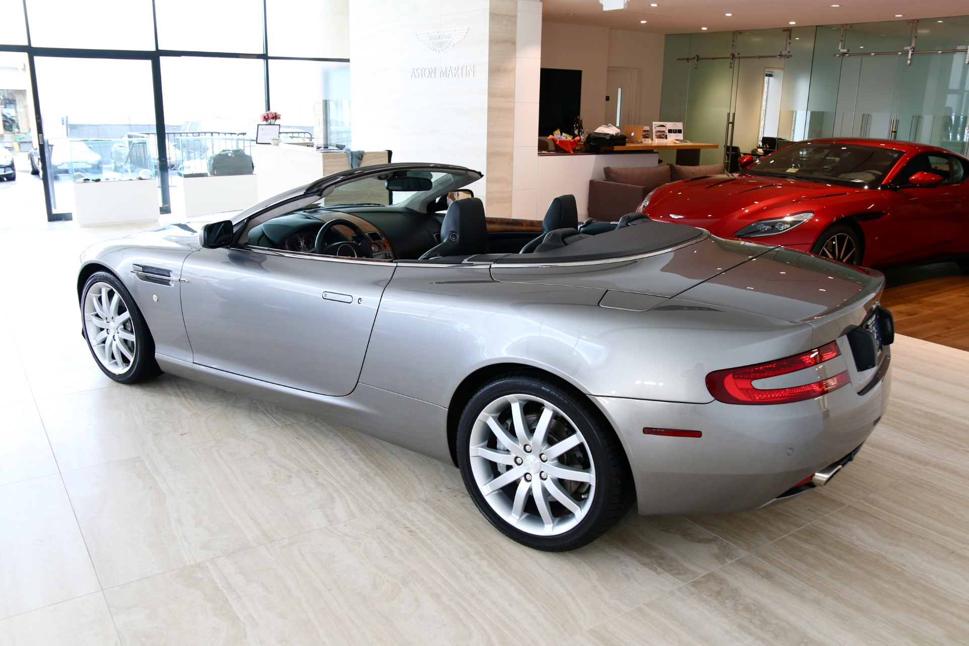 2007 aston martin db9 volante stock 7nc016052c for sale near vienna va va aston martin. Black Bedroom Furniture Sets. Home Design Ideas