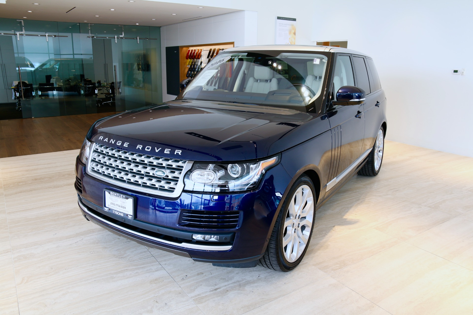 2016 land rover range rover supercharged stock 7nc015534b for sale near vienna va va land. Black Bedroom Furniture Sets. Home Design Ideas