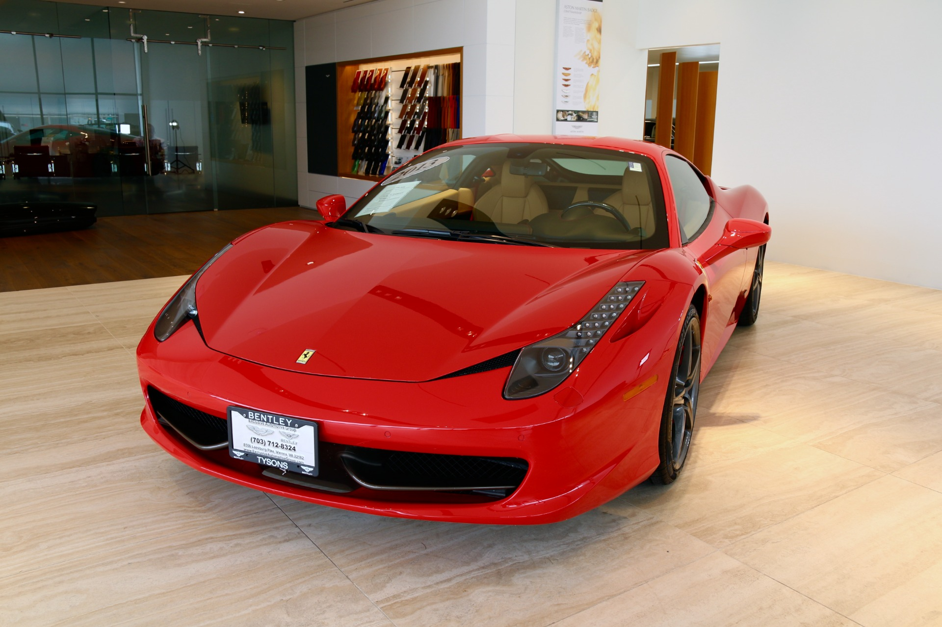 2013 ferrari 458 italia stock 7nc015534a for sale near vienna used 2013 ferrari 458 italia vienna va vanachro Choice Image