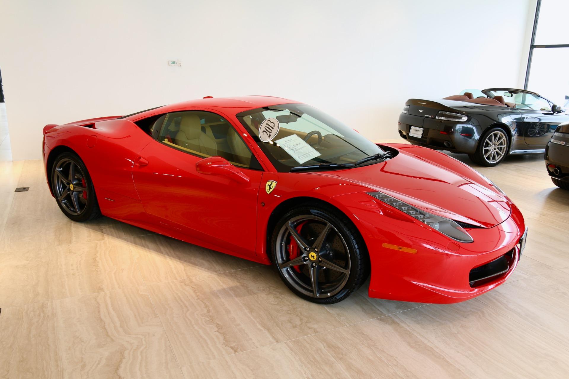 2013 ferrari 458 italia stock # 7nc015534a for  near vienna