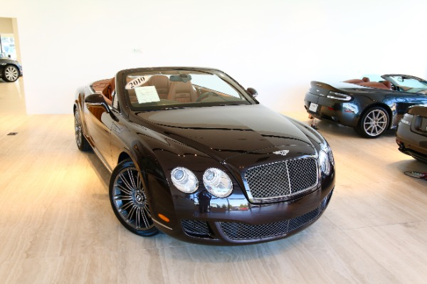 Used 2010 Bentley Continental GTC Speed-Vienna, VA