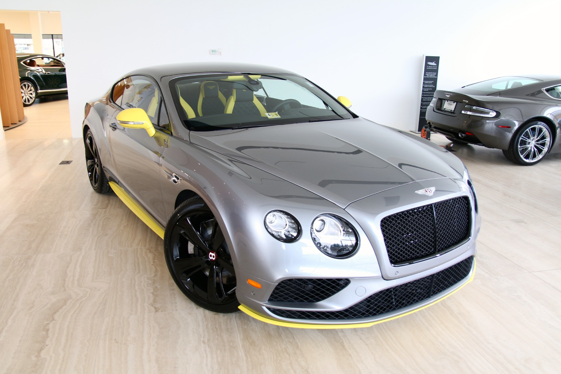 2017 bentley continental gt v8 s black edition stock 7nc063014 for sale near vienna va va. Black Bedroom Furniture Sets. Home Design Ideas