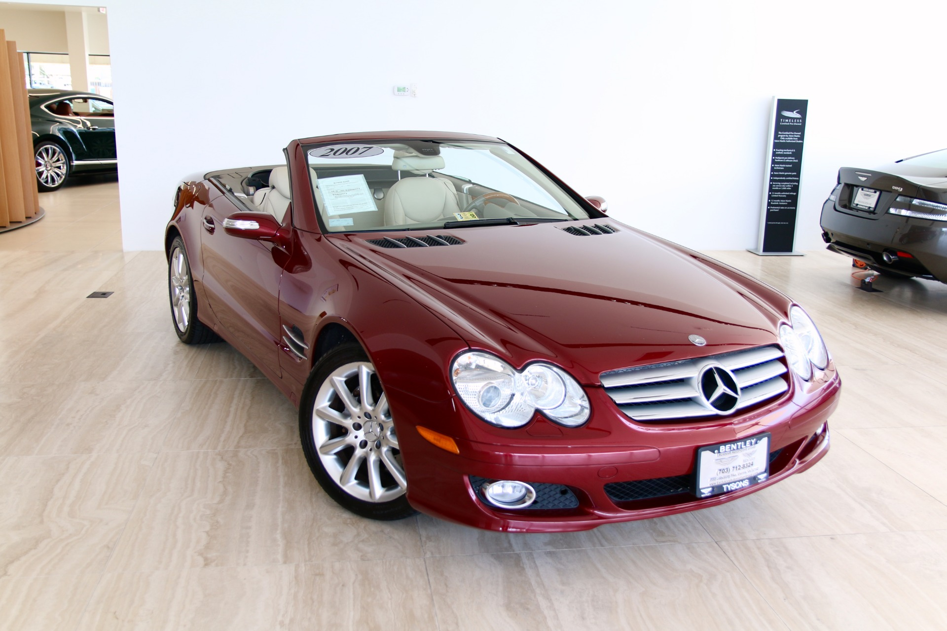 2007 mercedes benz sl class sl 550 stock p120341 for for 2007 mercedes benz sl class sl550
