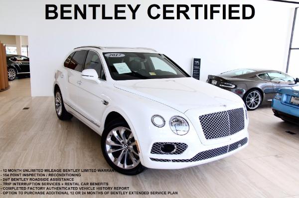 Used 2017 Bentley Bentayga-Vienna, VA